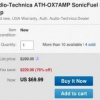 [Alerta Trato] Upgrade Your Ears To Audio Technica ATH-OX7AMP SonicFuel Auriculares Incorporados Amp Por $ 70 en eBay